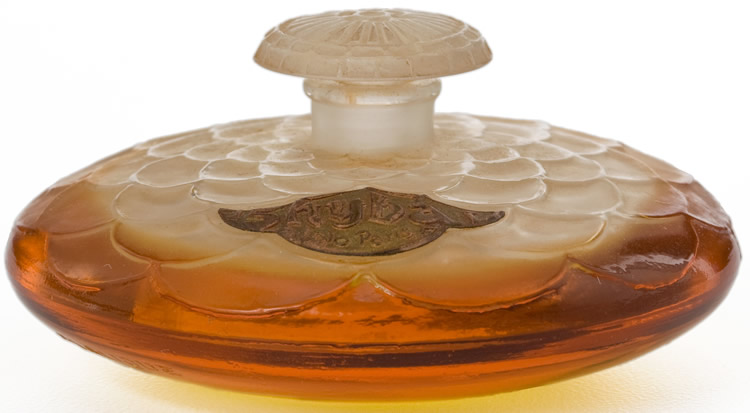 Rene Lalique Shyba Perfume Bottle