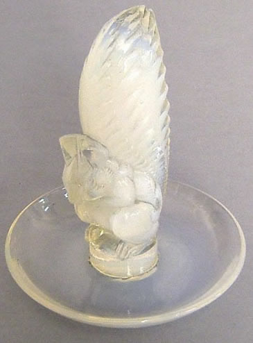 Rene Lalique Ecureuil Ashtray