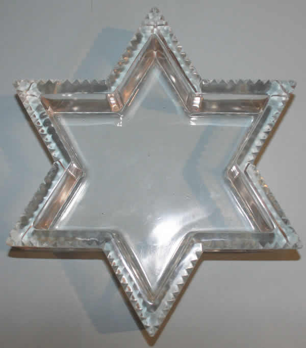 Rene Lalique Star of David Jardiniere
