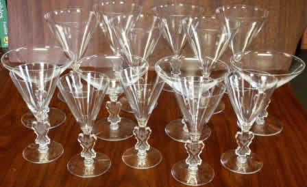 Rene Lalique Water Glass Strasbourg