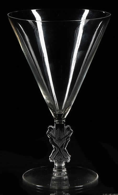 Rene Lalique Strasbourg Water Glass