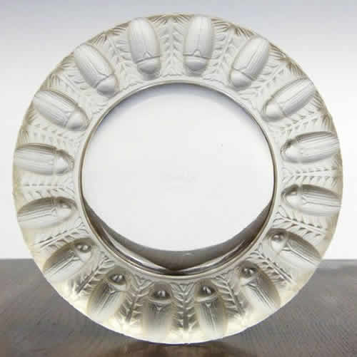 R. Lalique Tabago Ashtray