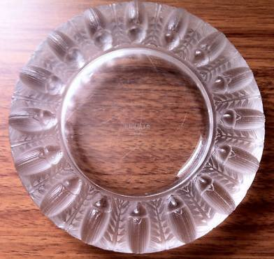 Rene Lalique Tabago Ashtray