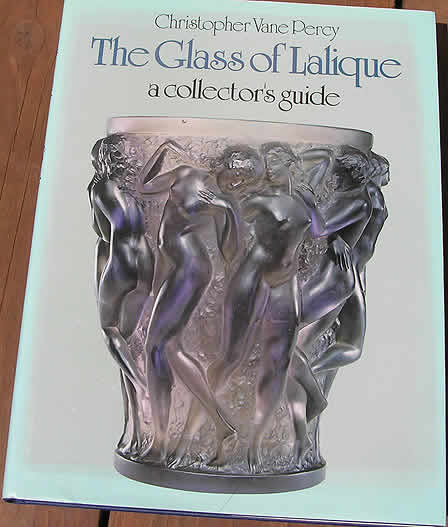 Rene Lalique The Glass of Lalique by Percy Book
