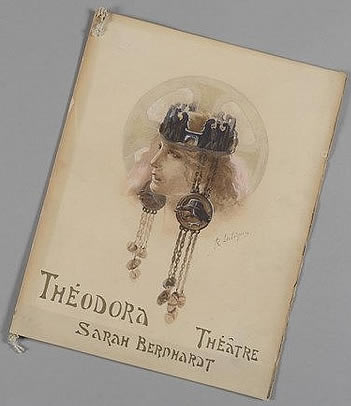 Rene Lalique Play Program Theodora