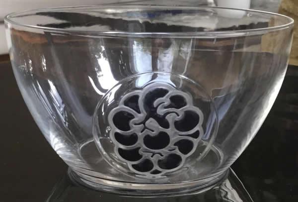 Rene Lalique Bowl Thionville