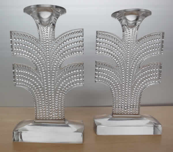 Rene Lalique Candlestick Tokyo