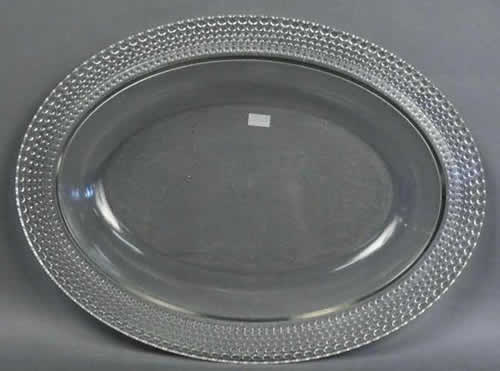 Rene Lalique Tokyo Serving Tray