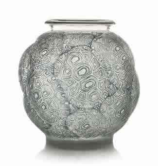 Rene Lalique  Tortues Vase