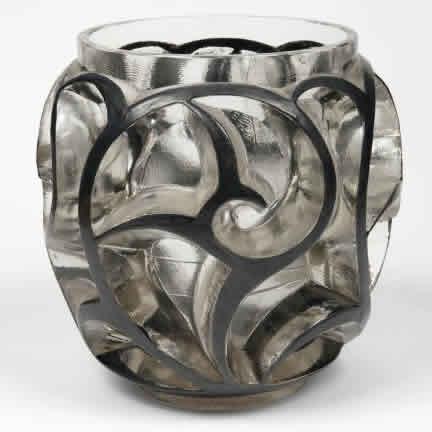 Rene Lalique Vase Tourbillons 2425 Rlalique