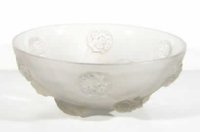 Rene Lalique Bowl Tournon