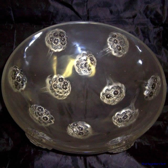 Rene Lalique Tournon Bowl