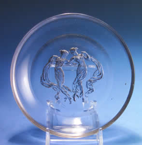 Rene Lalique Trianon Ashtray