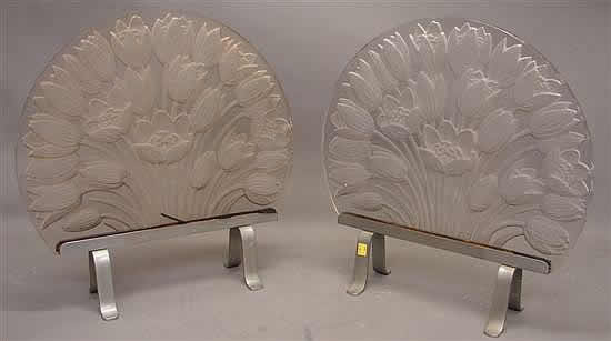 Rene Lalique Applique Tulipes