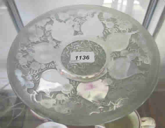 Rene Lalique Vases Plate