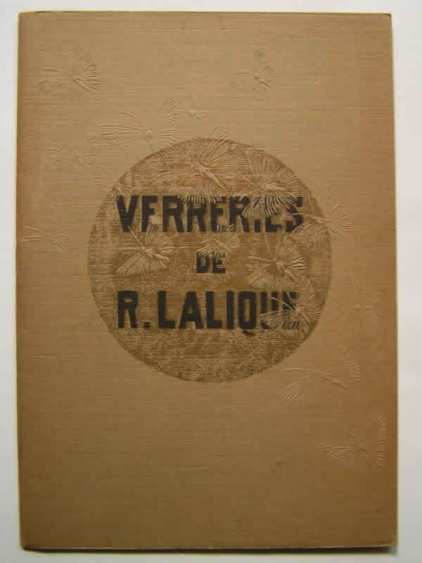 Rene Lalique Verreries De R. Lalique Christmas 1934 Brochure