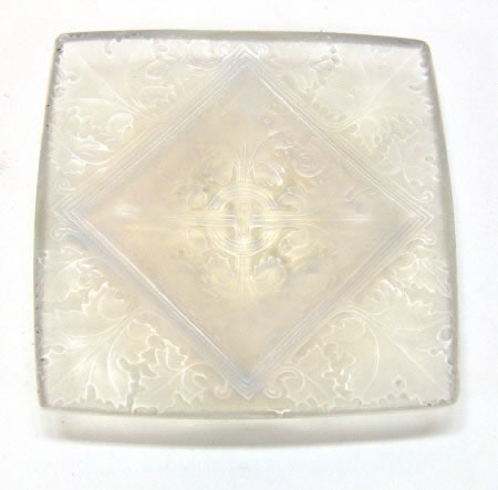 Rene Lalique  Vezelay Ashtray