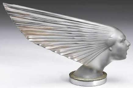 Rene Lalique Car Mascot Victoire