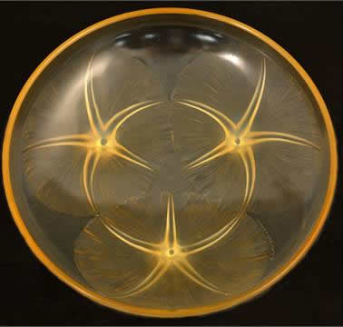 Rene Lalique Shallow Bowl Volubilis