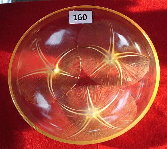 Rene Lalique Bowl Volubilis