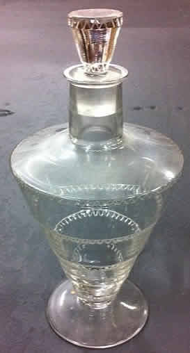 Rene Lalique Vouvray Decanter