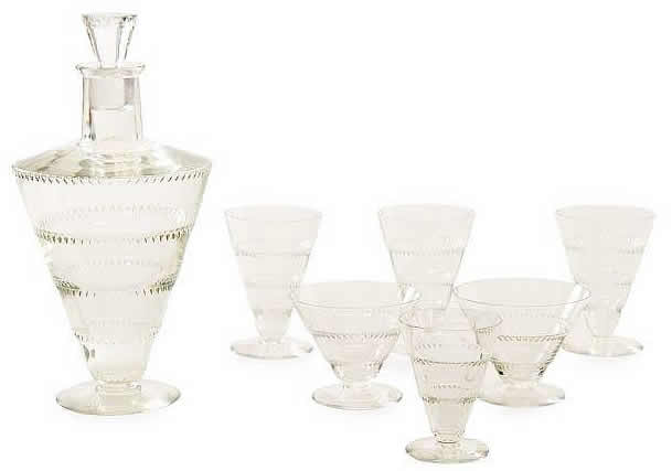 Rene Lalique Vouvray Tableware