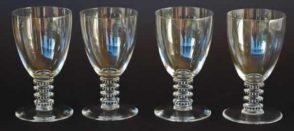 Rene Lalique Yquem Glass