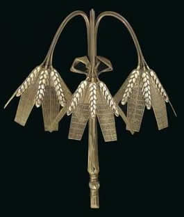 Rene Lalique Wheat Sconce