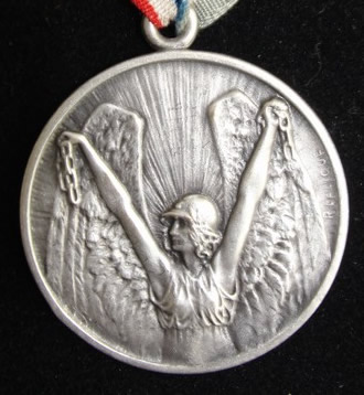 Rene Lalique Winged Victory Pendant