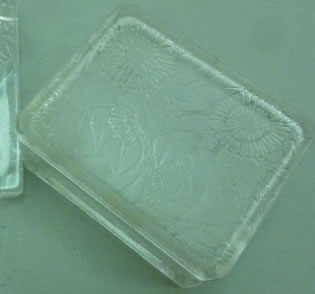 Rene Lalique Box Zinnias