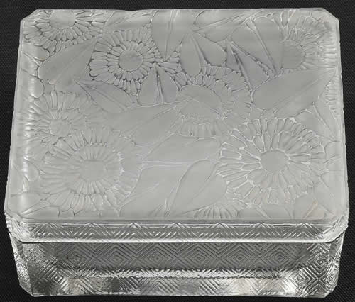 Rene Lalique Zinnias Box