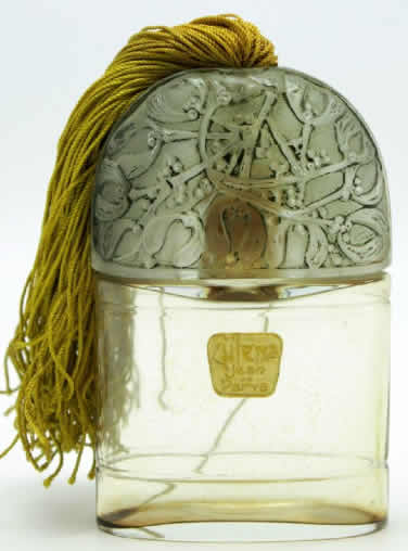 R. Lalique Zulena Perfume Bottle