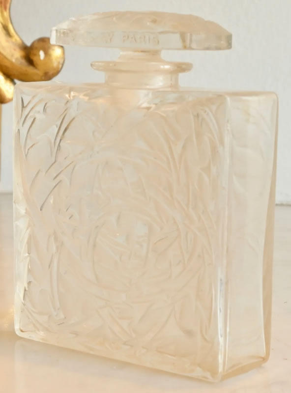 Rene Lalique Perfume Bottle Entrelacs