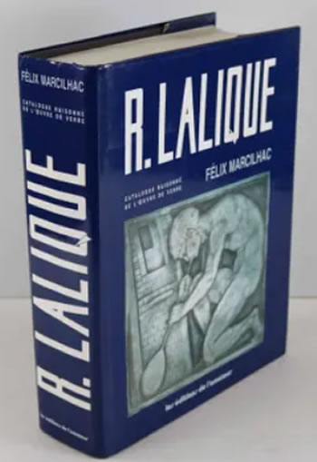 Rene Lalique Book R. Lalique Catalogue Raisonne 1994