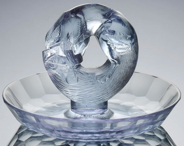 R. Lalique Alaska-2 Ashtray