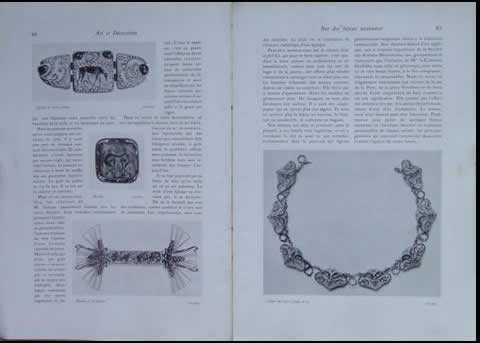 Rene Lalique Art Et Decoration September 1912 Magazine