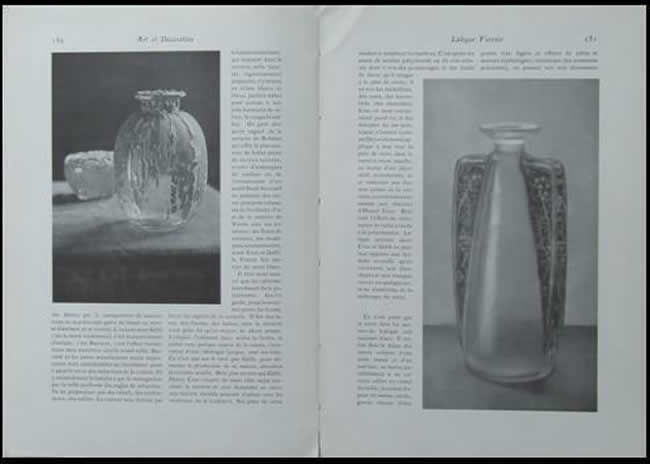 Rene Lalique Art Et Decoration May 1912 Magazine