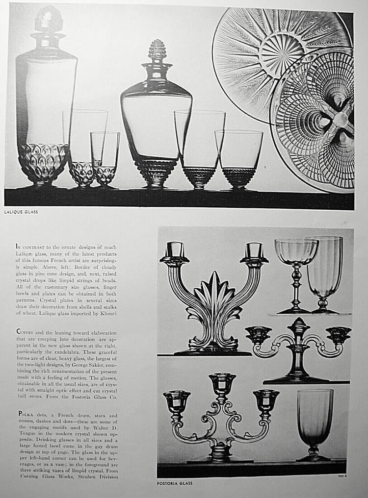 R. Lalique Unknown Magazine 1932 Article