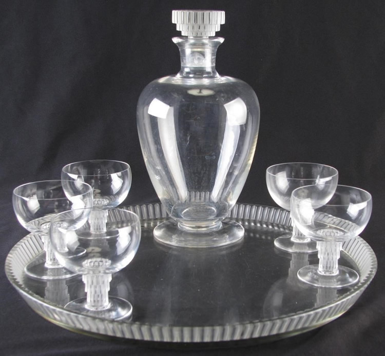 Rene Lalique Drinks Service Bambou
