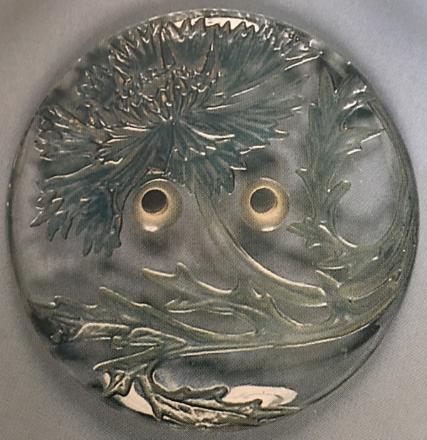 Rene Lalique Medallion Bluet