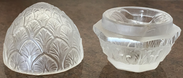 R. Lalique Bouton De Fleur-2 Ring Box 2 of 2