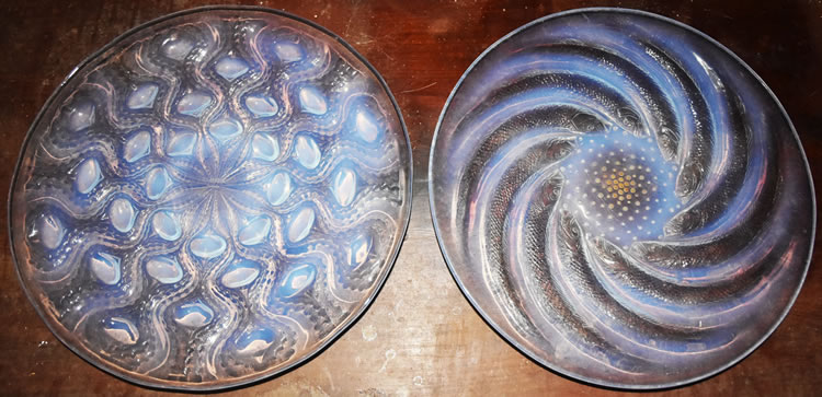 R. Lalique Bulbes Plate 2 of 2
