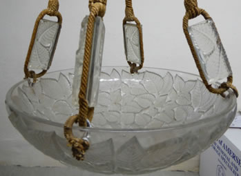 R. Lalique Charmes Light Fixture 2 of 2