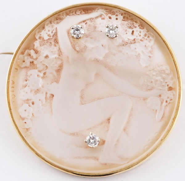 Rene Lalique Chose Promise Brooch