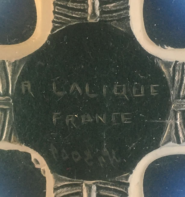 R. Lalique Coquilles Plate 2 of 2