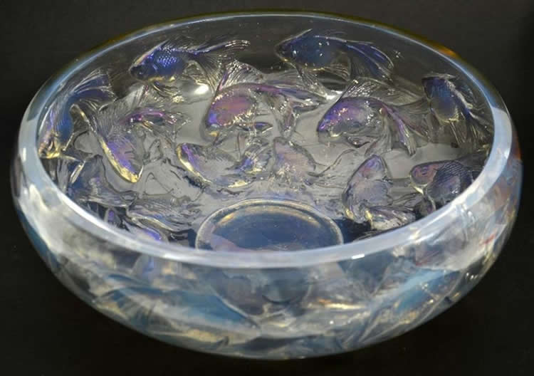 Rene Lalique  Cyprins Bowl