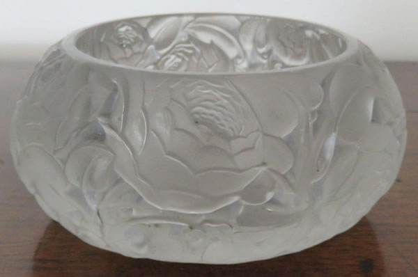 Rene Lalique  Dinard Box Bottom