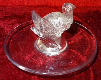 Rene Lalique Ashtray Dindon