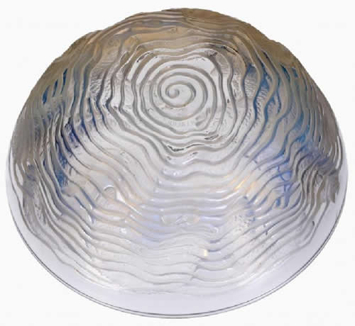 R. Lalique Dolphins Bowl 2 of 2