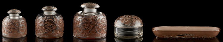 R. Lalique Epines Garniture De Toilette